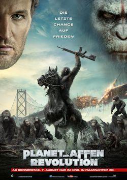 Planet der Affen - Revolution - Plakat zum Film