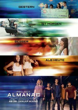 Project Almanac - Plakat zum Film
