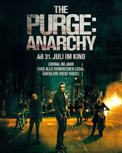 The Purge - Anarchy - Plakat zum Film