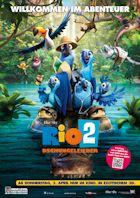 Rio 2 - Dschungelfieber - Plakat zum Film