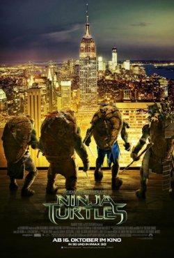 Teenage Mutant Ninja Turtles - Plakat zum Film