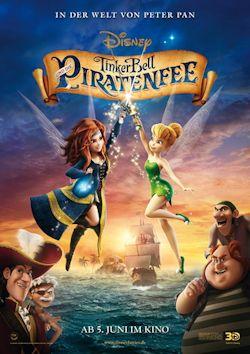 TinkerBell und die Piratenfee - Plakat zum Film