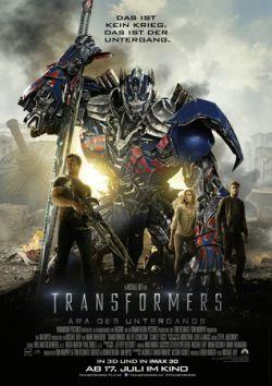 Transformers: Ära des Untergangs - Plakat zum Film