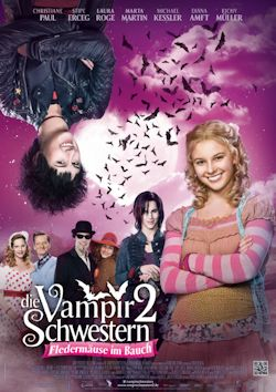 Die Vampirschwestern 2 - Fledermäuse im Bauch - Plakat zum Film