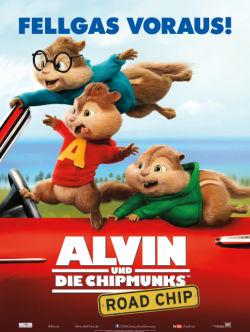 Alvin und die Chipmunks: Road Chip - Plakat zum Film