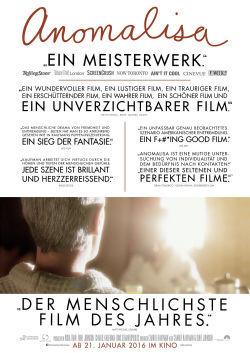 Anomalisa - Plakat zum Film