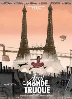 April und die außergewöhnliche Welt - Plakat zum Film