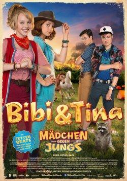 Bibi und Tina - Mädchen gegen Jungs - Plakat zum Film