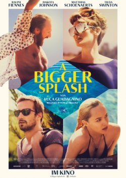 A Bigger Splash - Plakat zum Film
