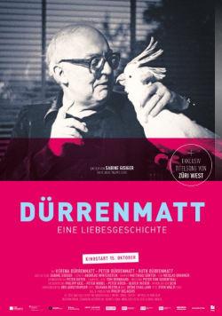 Dürrenmatt: Eine Liebesgeschichte - Plakat zum Film