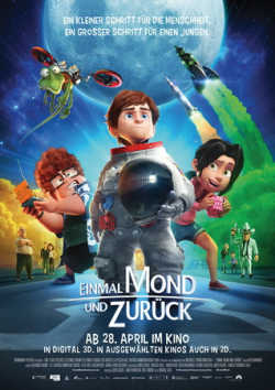 Einmal Mond und zurück - Plakat zum Film