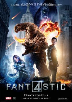 Fantastic Four - Plakat zum Film