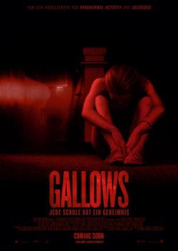 Gallows - Plakat zum Film