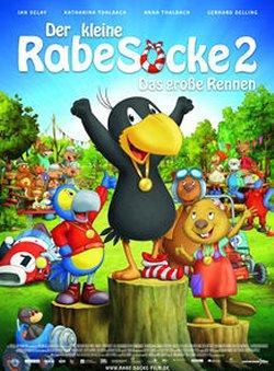 Der kleine Rabe Socke 2 - Das große Rennen - Plakat zum Film