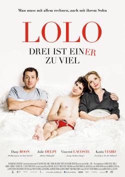 Lolo - Drei ist einer zu viel - Plakat zum Film