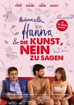 Mademoiselle Hanna und die Kunst Nein zu sagen - Plakat zum Film