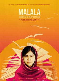 Malala - Ihr Recht auf Bildung - Plakat zum Film