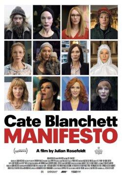 Manifesto - Plakat zum Film