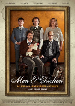 Men And Chicken - Plakat zum Film
