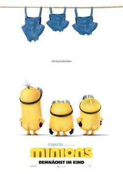 Minions - Plakat zum Film