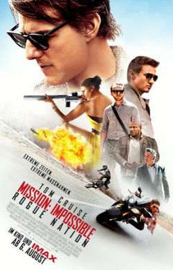 Mission: Impossible - Rogue Nation - Plakat zum Film