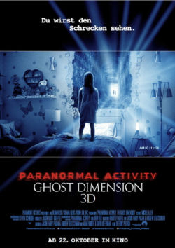 Paranormal Activity: Ghost Dimension - Plakat zum Film
