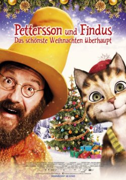 Pettersson und Findus II - Das schönste Weihnachten überhaupt - Plakat zum Film