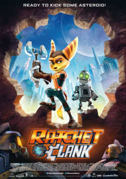 Ratchet And Clank - Plakat zum Film