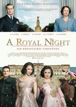 A Royal Night - Ein königliches Vergnügen - Plakat zum Film