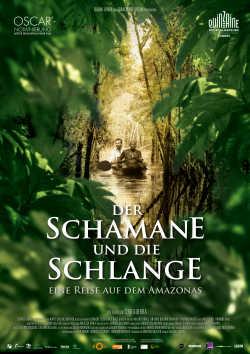 Der Schamane und die Schlange - Plakat zum Film