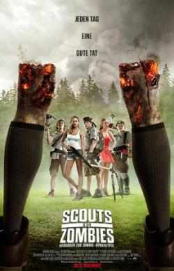 Scouts Vs. Zombies - Handbuch zur Zombie-Apokalypse - Plakat zum Film