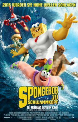 SpongeBob Schwammkopf 3D - Plakat zum Film