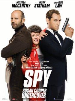 Spy - Susan Cooper Undercover - Plakat zum Film