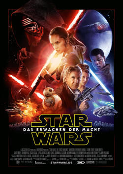 Star Wars: Episode VII - Das Erwachen der Macht - Plakat zum Film