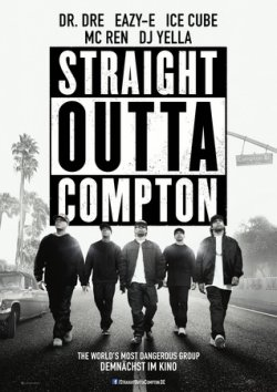 Straight Outta Compton - Plakat zum Film