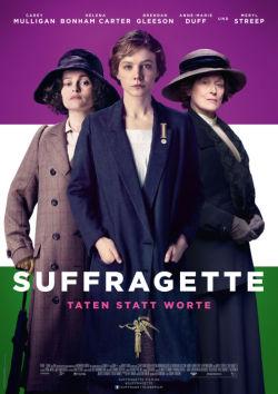 Suffragette - Plakat zum Film