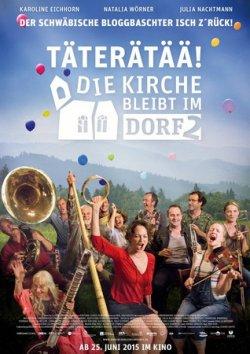 Täterätää - Die Kirche bleibt im Dorf 2 - Plakat zum Film