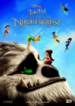 TinkerBell und die Legende vom Nimmerbiest - Plakat zum Film