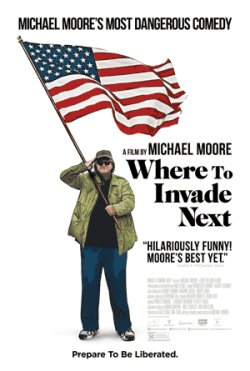 Where To Invade Next - Plakat zum Film