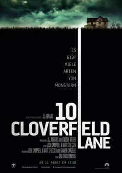 10 Cloverfield Lane - Plakat zum Film