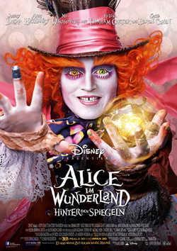 Alice im Wunderland: Hinter den Spiegeln - Plakat zum Film