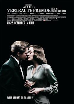 Allied - Vertraute Fremde - Plakat zum Film