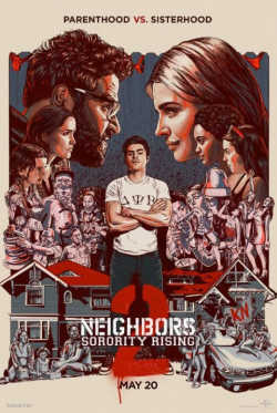 Bad Neighbors 2 - Plakat zum Film