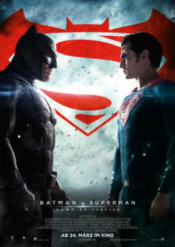 Batman V Superman: Dawn Of Justice - Plakat zum Film