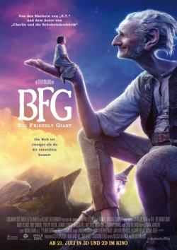 BFG - Big Friendly Giant - Plakat zum Film