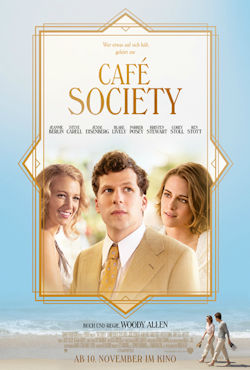 Cafe Society - Plakat zum Film