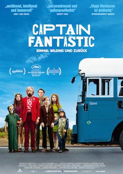 Captain Fantastic: Einmal Wildnis und zurück - Plakat zum Film