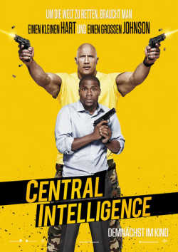 Central Intelligence - Plakat zum Film