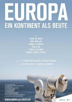 Europa - ein Kontinent als Beute - Plakat zum Film