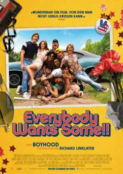 Everybody Wants Some - Plakat zum Film